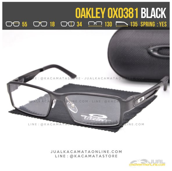 Model Kacamata Minus Terbaru Oakley OX0381 Black