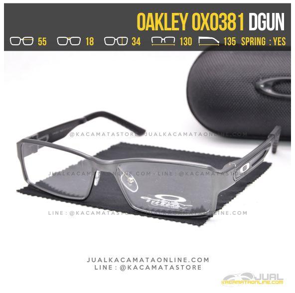Gambar Kacamata Minus Terbaru Oakley OX0381 Dgun