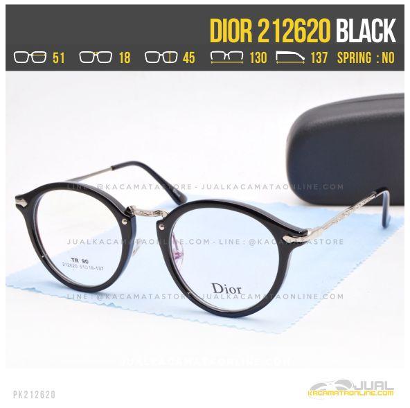 Jual Kacamata Optik Terbaru Dior 212620 Black