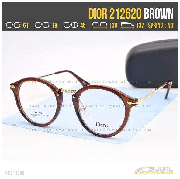 Harga Kacamata Optik Terbaru Dior 212620 Brown