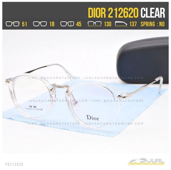 Gambar Kacamata Optik Terbaru Dior 212620 Clear