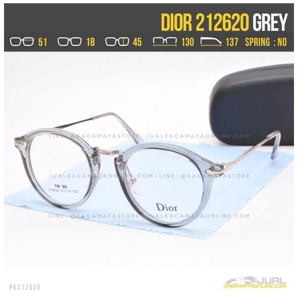 Model Kacamata Optik Terbaru Dior 212620 Grey