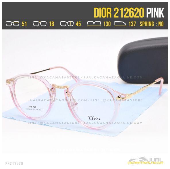 Trend Kacamata Optik Terbaru Dior 212620 Pink