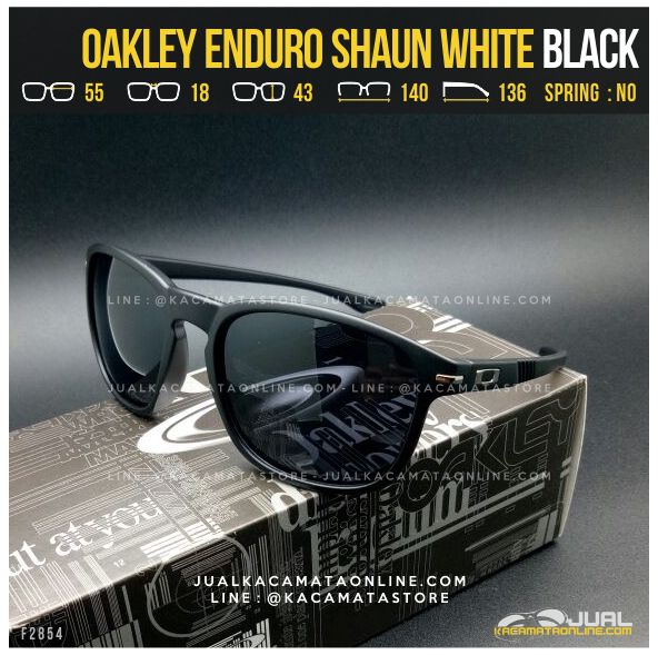 Model Kacamata Oakley Terbaru Enduro Shaun White Black