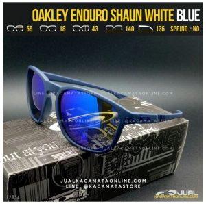 Grosir Kacamata Oakley Terbaru Enduro Shaun White Blue