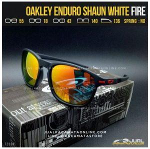 Jual Kacamata Oakley Terbaru Enduro Shaun White Fire