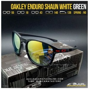 Trend Kacamata Oakley Terbaru Enduro Shaun White Green