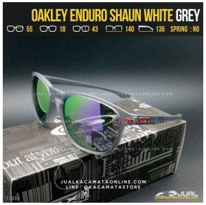 Harga Kacamata Oakley Terbaru Enduro Shaun White Grey