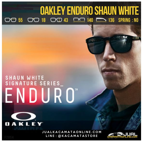 Model Kacamata Oakley Terbaru Enduro Shaun White Polarized