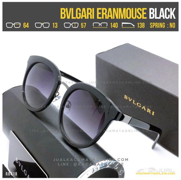 Jual Kacamata Cewek Terlaris Bvlgari Eranmouse Black