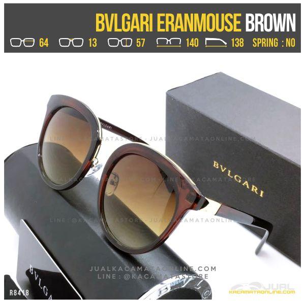 Model Kacamata Cewek Terlaris Bvlgari Eranmouse Brown