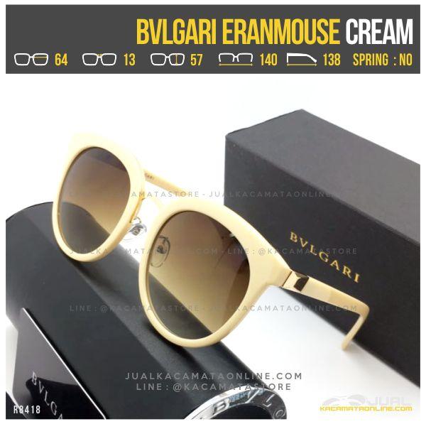 Trend Kacamata Cewek Terlaris Bvlgari Eranmouse Cream