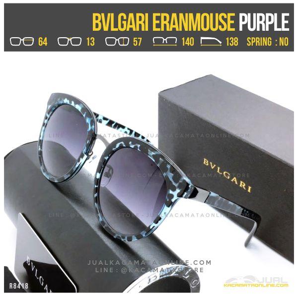 Model Kacamata Cewek Terlaris Bvlgari Eranmouse Purple