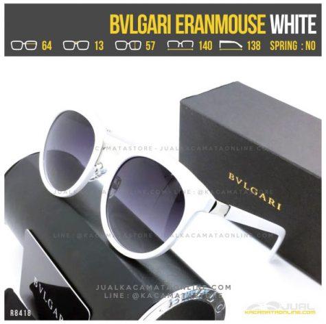 Gambar Kacamata Cewek Terlaris Bvlgari Eranmouse White