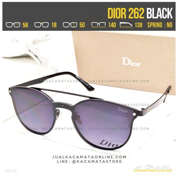 Model Kacamata Terbaru Dior 262 Black
