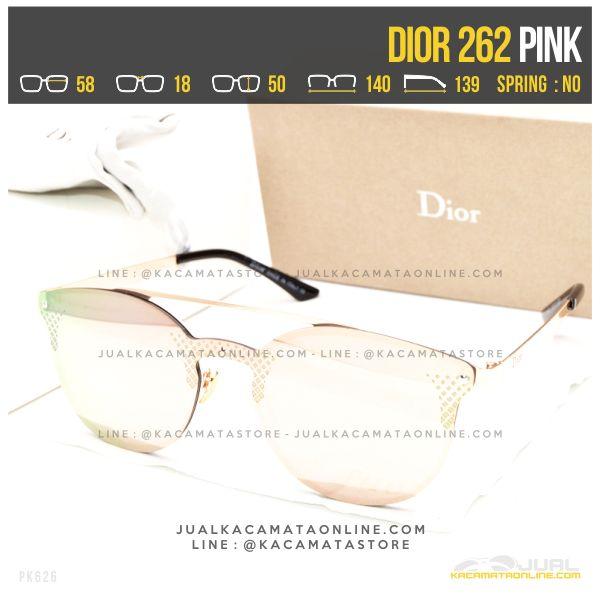 Jual Kacamata Terbaru Dior 262 Pink