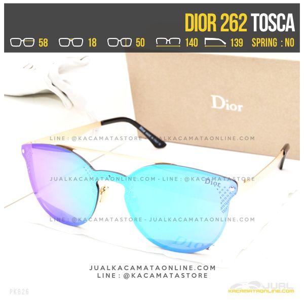 Jual Kacamata Terbaru Dior 262 Tosca