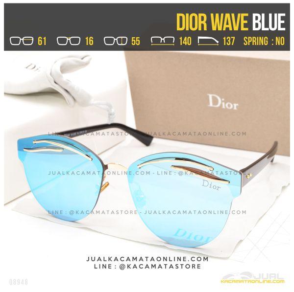 Gambar Kacamata Termurah Dior Wave Blue