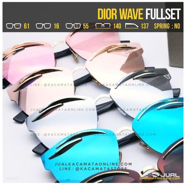 Grosir Kacamata Termurah Dior Wave Fullset