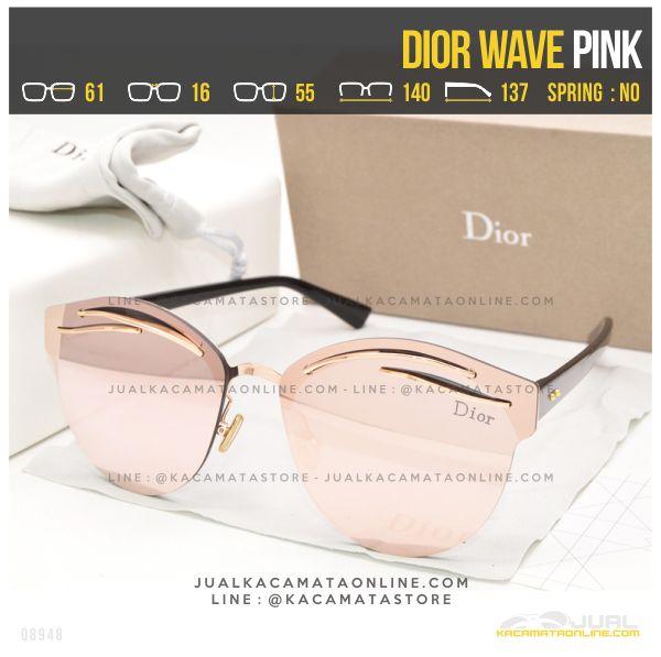 Jual Kacamata Termurah Dior Wave Pink
