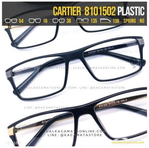 Jual Frame Kacamata Baca Terbaru Cartier 8101502 Murah