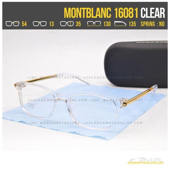 Gambar Frame Kacamata Minus Wanita MontBlanc 16081 Clear