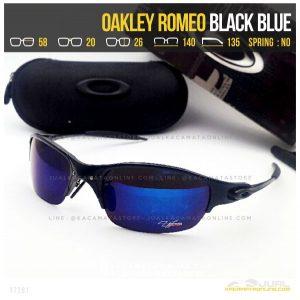 Model Kacamata Murah Terbaru Oakley Romeo Black Blue