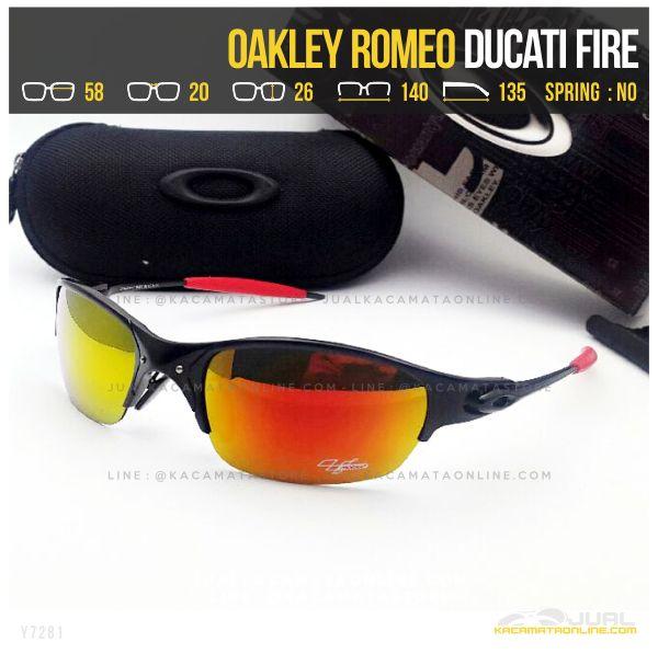 Model Kacamata Murah Terbaru Oakley Romeo Ducati Fire