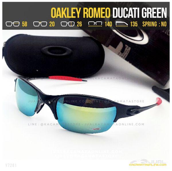 Jual Kacamata Murah Terbaru Oakley Romeo Ducati Green