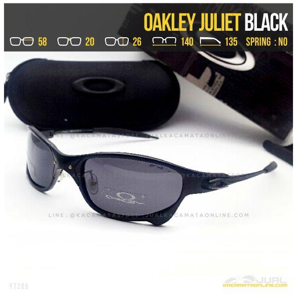 Model Kacamata Sporty Terbaru Oakley Juliet Black