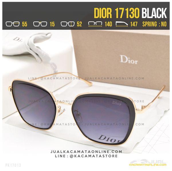Grosir Kacamata Wanita Berhijab Dior 17130 Black