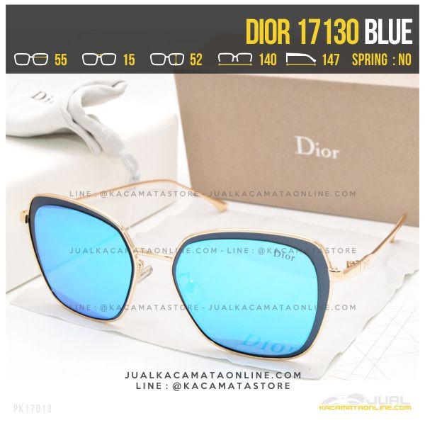 Harga Kacamata Wanita Berhijab Dior 17130 Blue