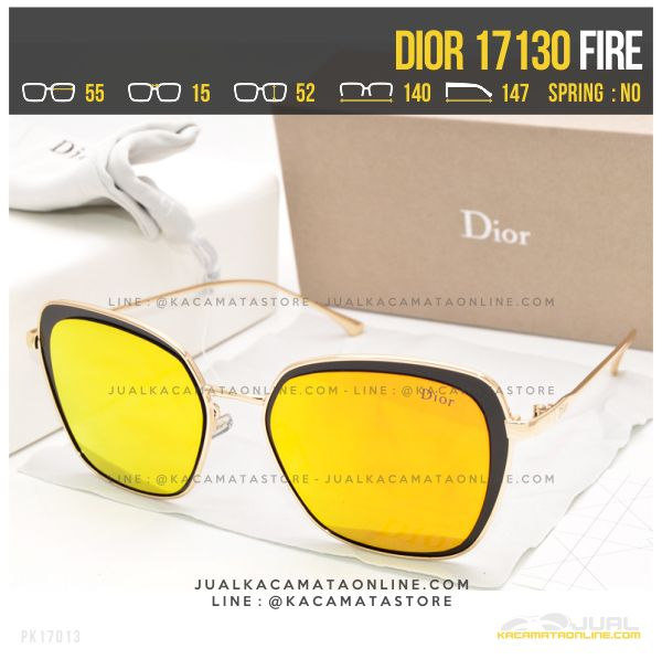 Gambar Kacamata Wanita Berhijab Dior 17130 Fire