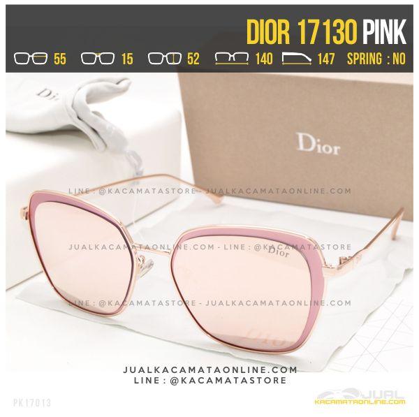 Model Kacamata Wanita Berhijab Dior 17130 Pink