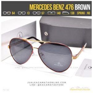 Gambar Kacamata Cowok Terbaru Mercedes Benz 476 Brown