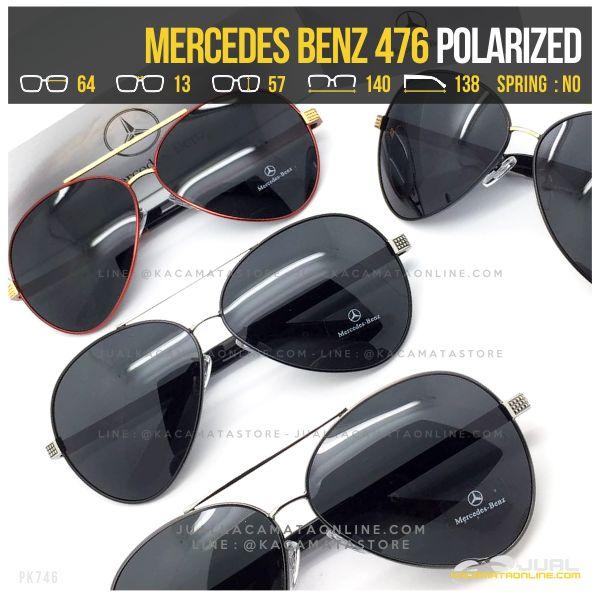 Model Kacamata Cowok Terbaru Mercedes Benz 476 Polarized