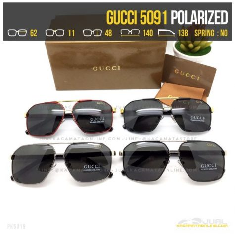 Model Kacamata Gaya Terbaru Gucci 5091 POlarized