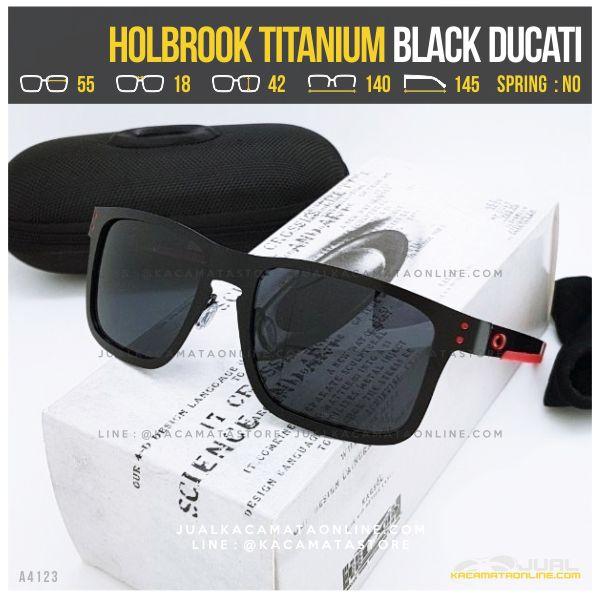 Kacamata Oakley Terlaris Holbrook Titanium Black