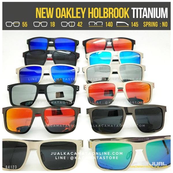 Model Kacamata Oakley Terlaris Holbrook Titanium Polarized