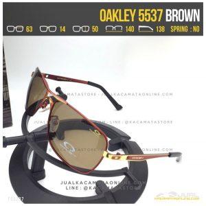 Gambar Kacamata Polarized Terbaru Oakley 5537 Brown