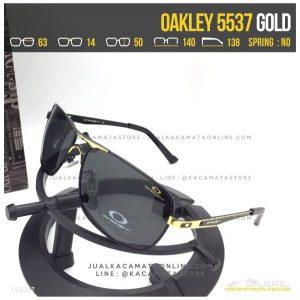 Jual Kacamata Polarized Terbaru Oakley 5537 Gold