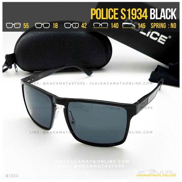 Moel Kacamata Police Terlaris S1934 Black