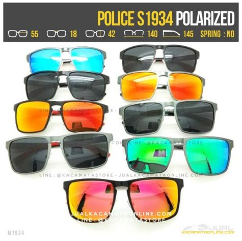 Model Kacamata Police Terlaris S1934 Polarized