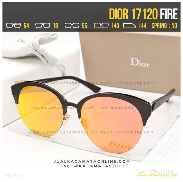 Gambar Kacamata Wanita Berhijab Dior 17120 Fire
