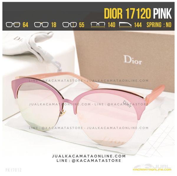 Jual Kacamata Wanita Berhijab Dior 17120 Pink