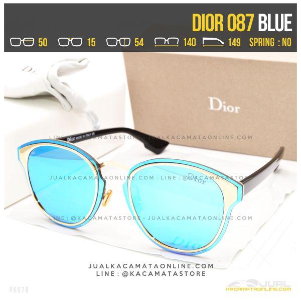 Trend Kacamata Cewek Terbaru Dior 087 Blue