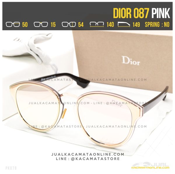 Gambar Kacamata Cewek Terbaru Dior 087 Pink