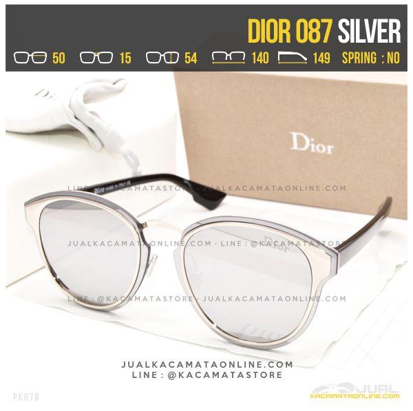 Harga Kacamata Cewek Terbaru Dior 087 Silver
