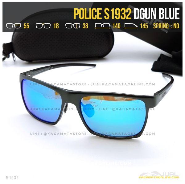 Harga Kacamata Police Terlaris S1932 Dgun Blue