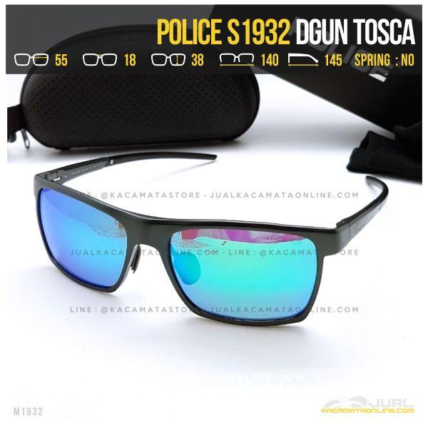 Model Kacamata Police Terlaris S1932 Dgun Tosca